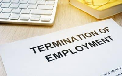 Termination agreements